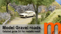 Video tutorial how to model realistic gravel- or dirt roads easy and low cost